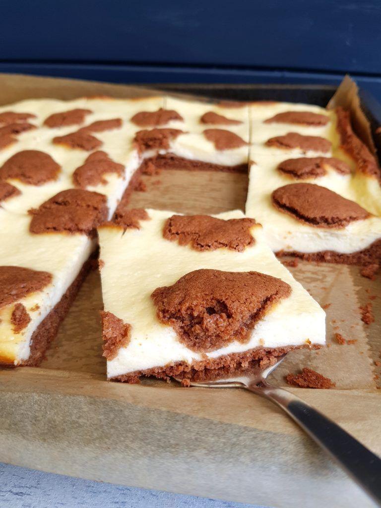 Kasekuchen Vom Blech Rezept Trockene Kuchen Thermomix
