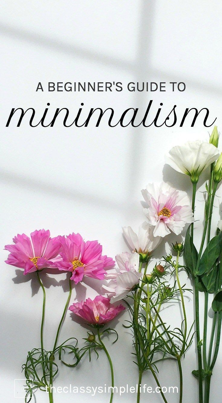 Beginner S Guide To Minimalism Pinterest Minimalism Clean House