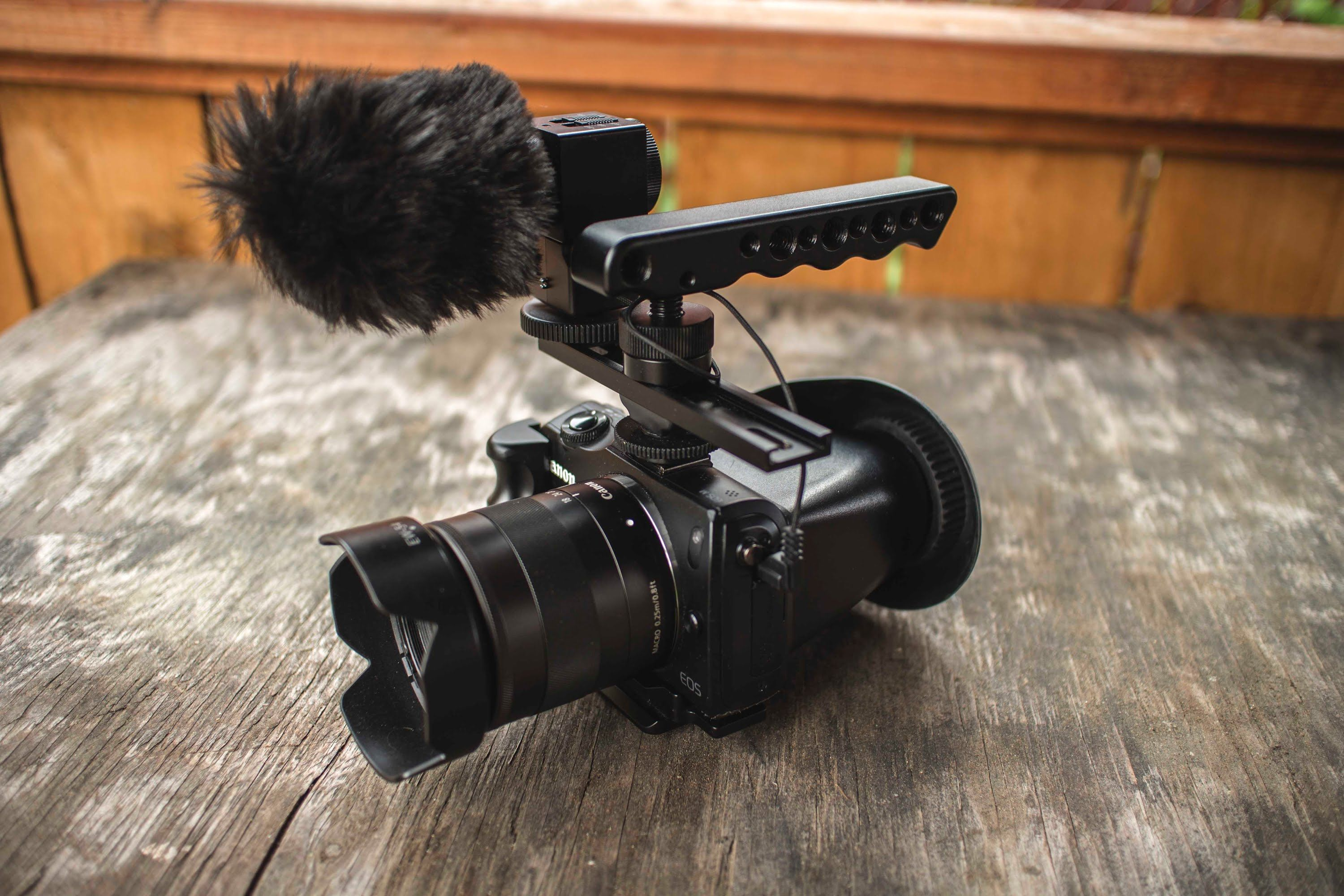 Best Video camera under $400! (Canon Eos-M rig