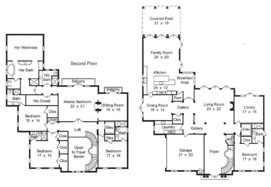 7000 sq ft house plan