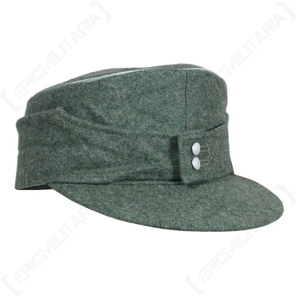 e054e5e5 Officers M43 Ski Cap - Field Grey | WW2 German Army - Uniform | Army ...