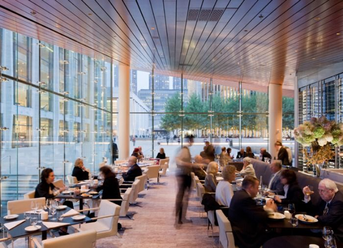 the interior of the lincoln restaurant at lincoln center - Lincoln Center Kitchen