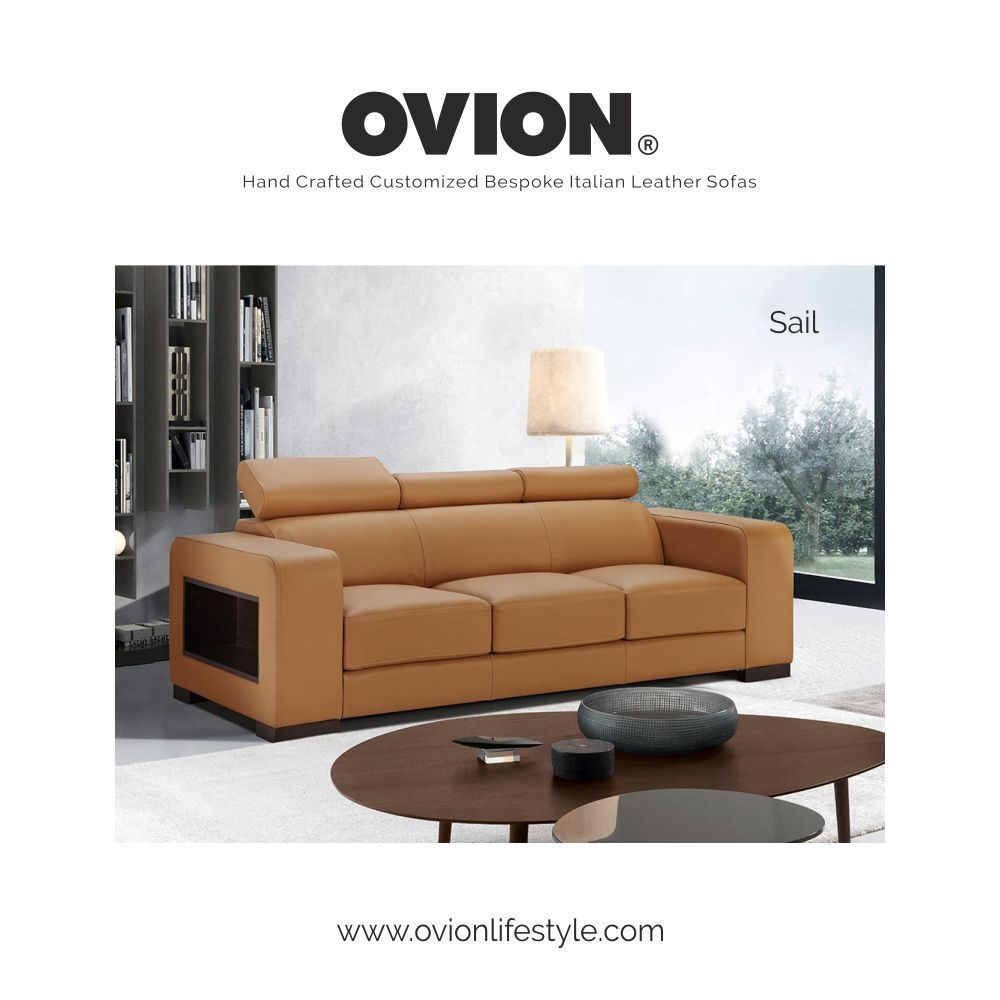 Modern Sail Leather Sofa Manufacturers