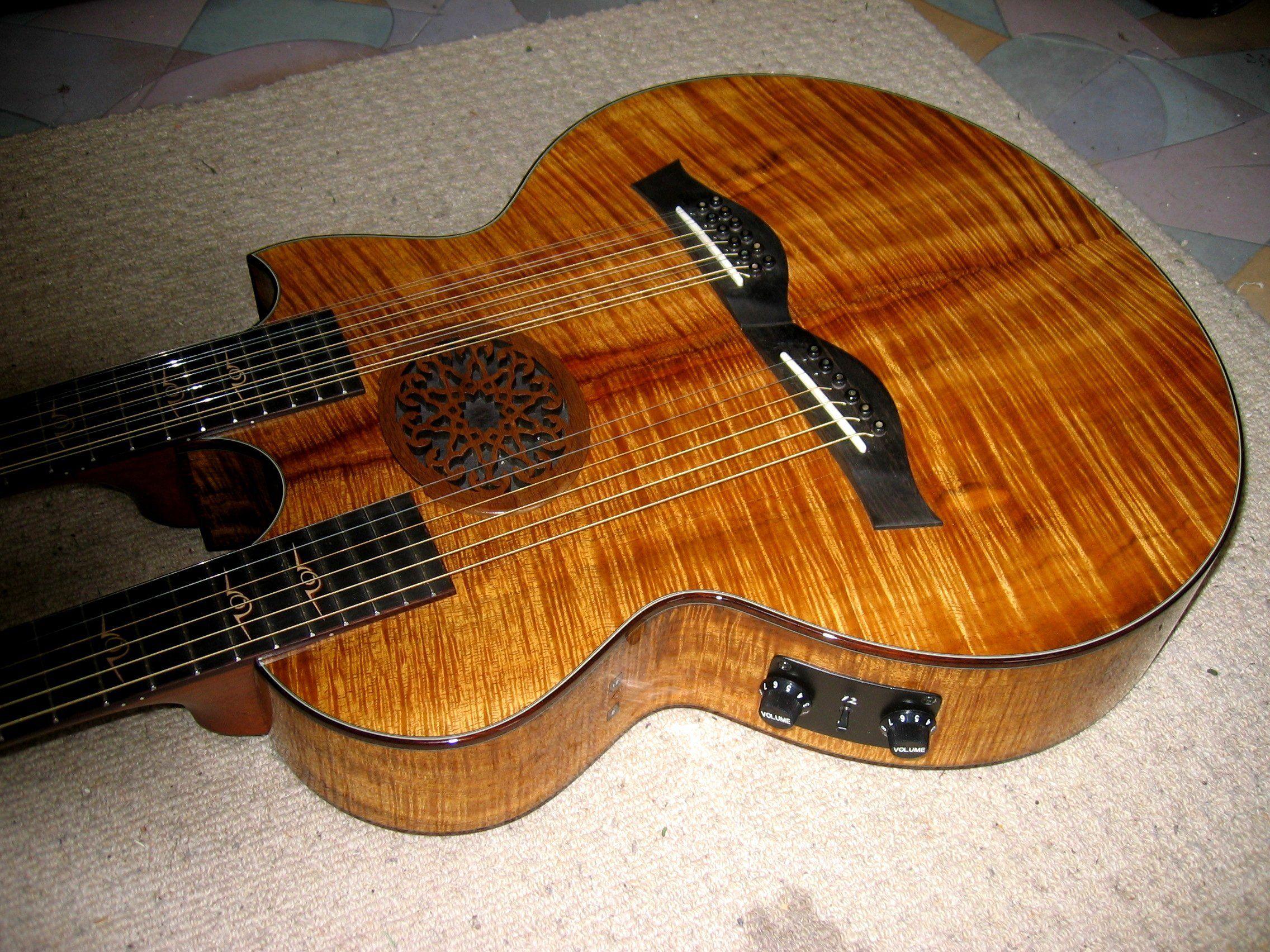 Richie Sambora's double neck Taylor acoustic