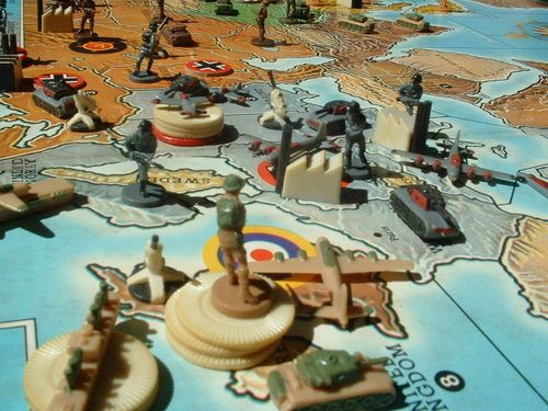 Axis And Allies Board Game Pieces
