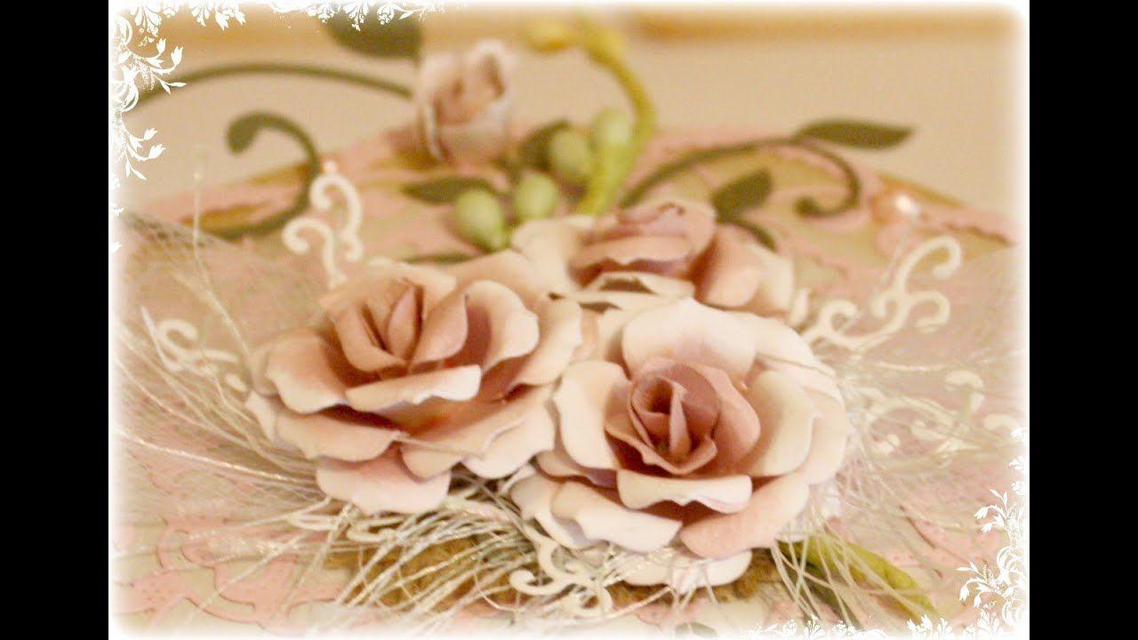 Flower Tutorial Using Cheery Lynn Gardenia Die Strip Paper