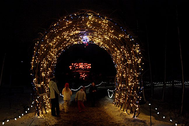 Green Bay Garden Of Lights Magnificent Have You Ever Gone To The Green Bay Botanical Garden Check It Out Inspiration