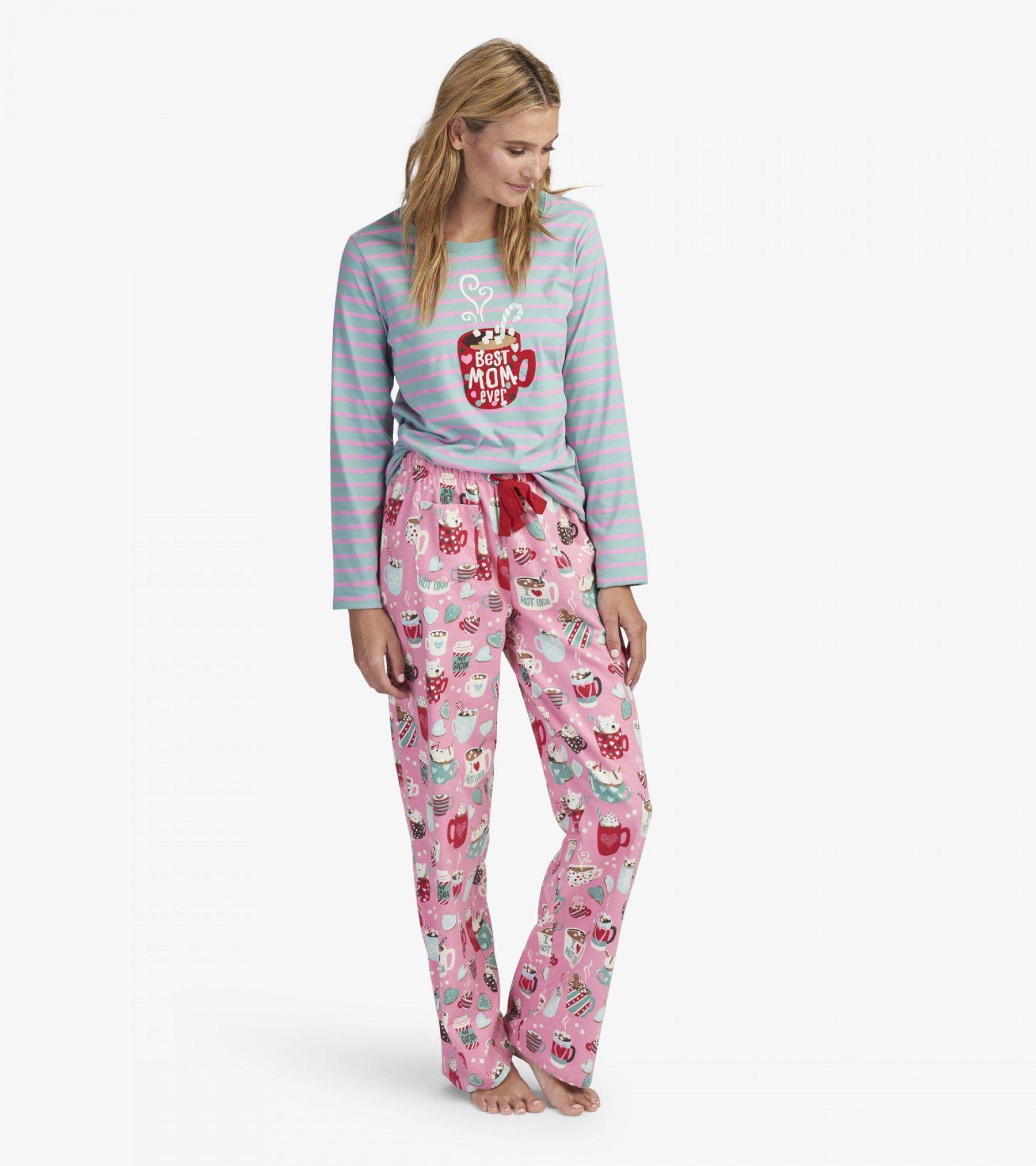 Holiday Cocoa Sleep Separates Pajama Separates