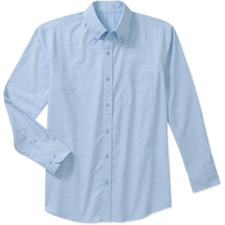 7090908c George Big Men's Long Sleeve Oxford Shirt | Products | Monogram ...