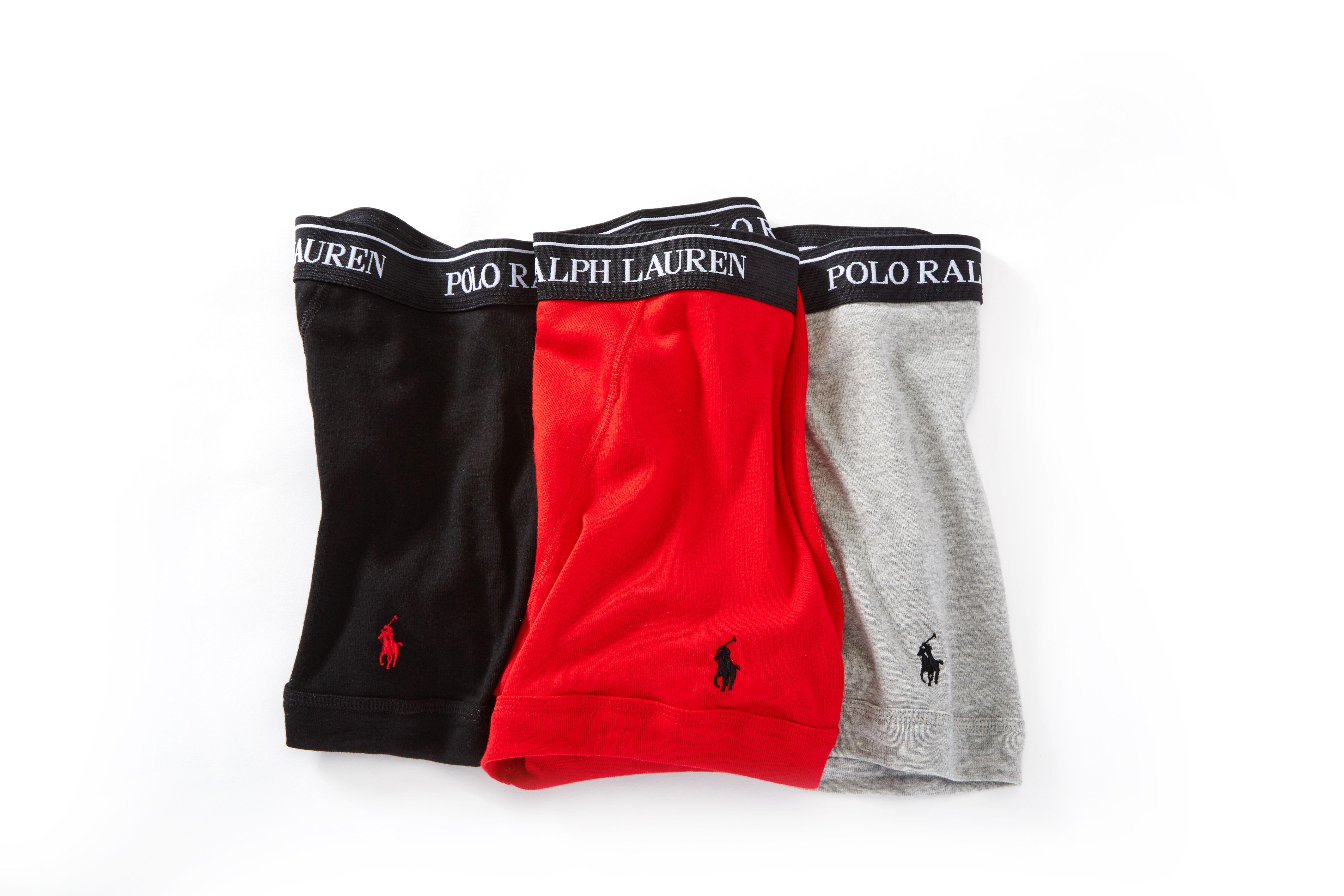 1855c6aa2cbe Polo Ralph Lauren Classic Fit 100% Cotton Boxer Briefs - 3 Pack  #BoxersBriefs #MensUnderwear #HisRoom #PoloRalphLauren