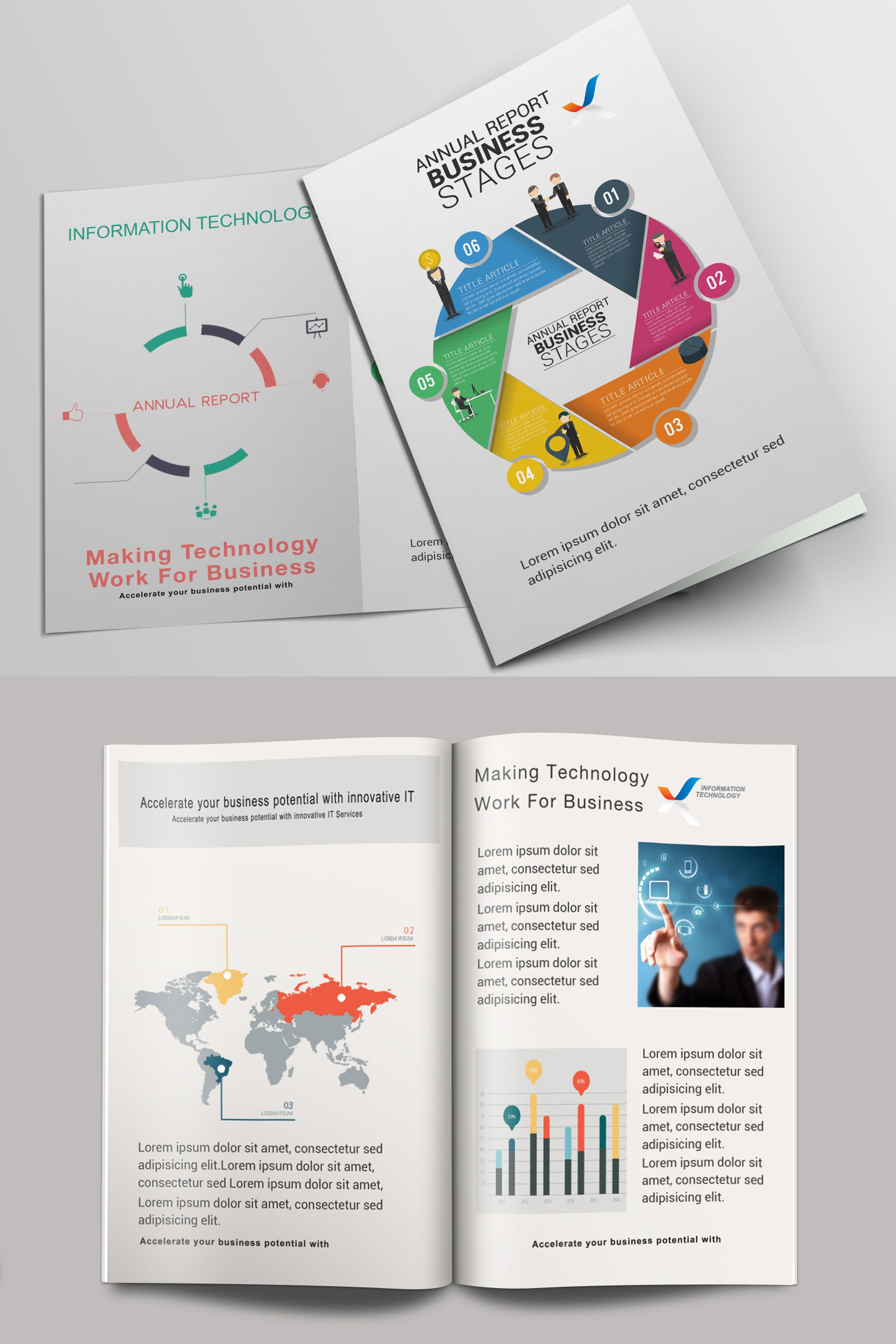Check Out This @Behance Project: U201cSample Bi Fold Annual Reportu201d Https