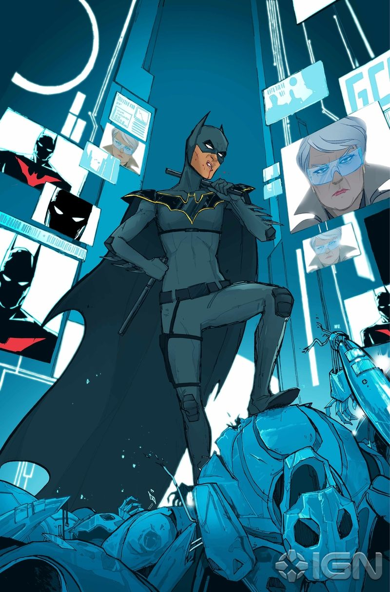 Batman Beyond and Justice League Beyond, two of DC's ...