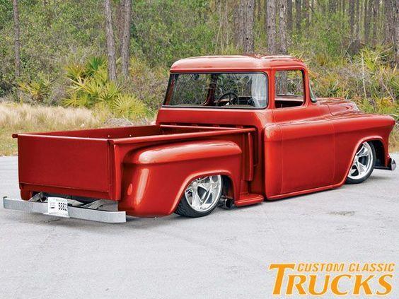 1957 Chevy Stepside Pickup Truck Joe S Barn Fine 57 Pickup Trucks Chevy Stepside Trucks
