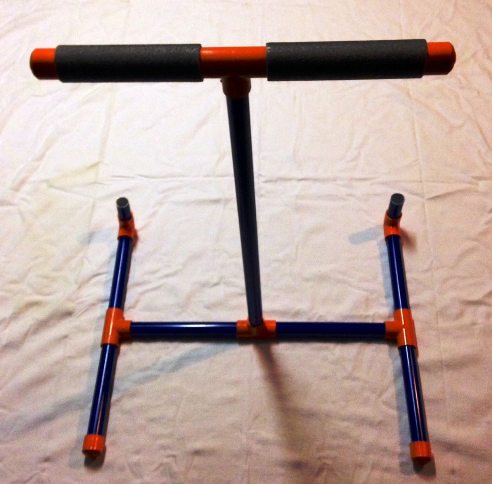 build your own bow rack with one 10 foot piece of pvc this