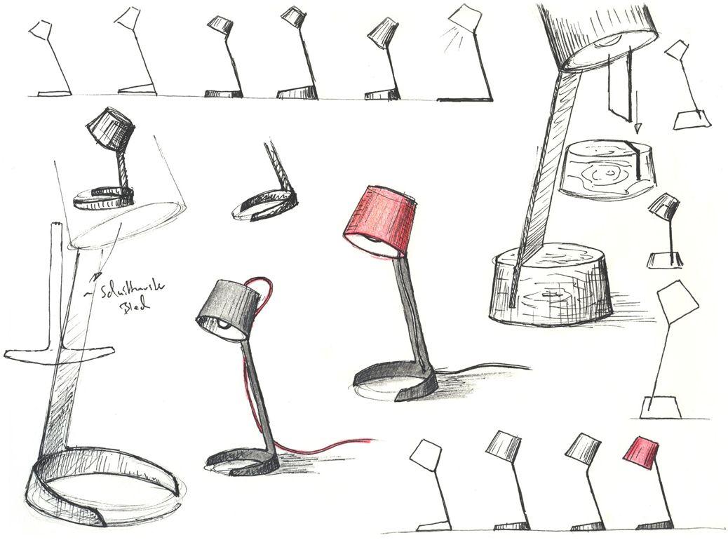 Image result for table lamp lampholder design sketch