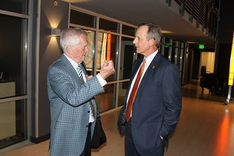 Rick Barnes meets the legend John Ward 2015