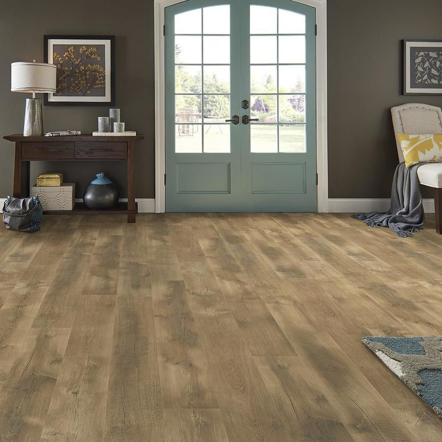 Pergo Portfolio Wetprotect Waterproof Timber Beam Oak 9 44 In W X 6 72 Ft L Embossed Wood Plank Laminate Flooring Lowes Com Pergo Flooring Timber Beams Flooring