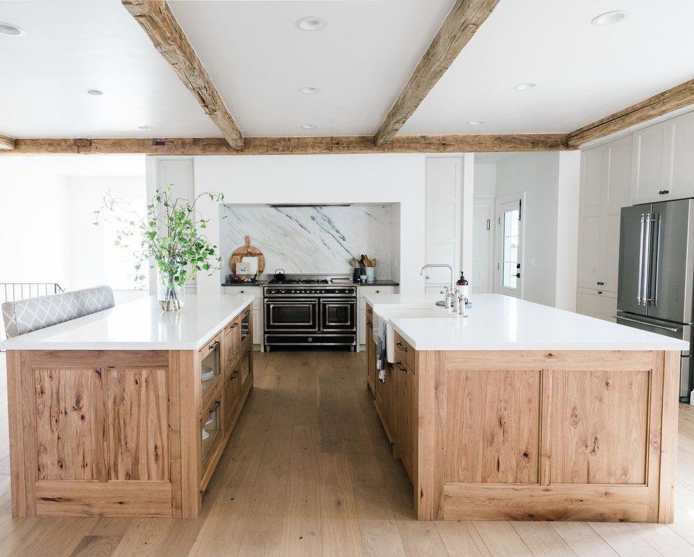 8 Inspiring Non-White Kitchens in 2020   Farmhouse kitchen ...