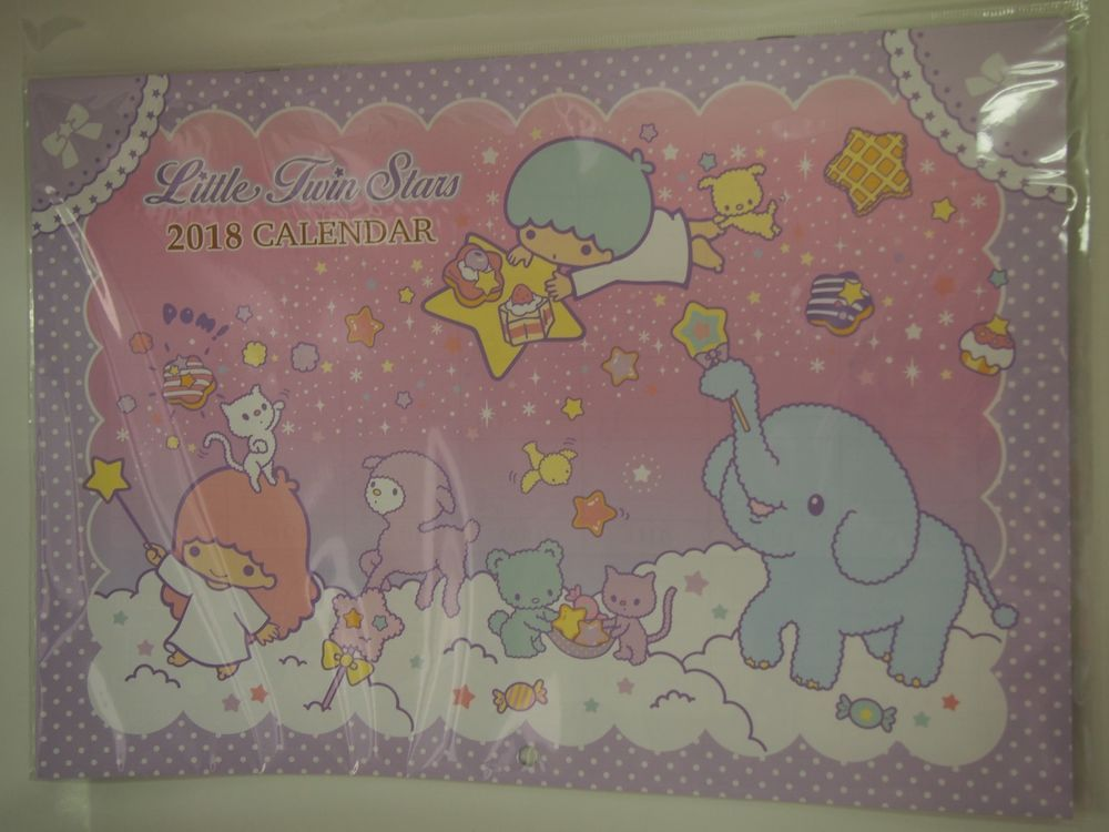 SANRIO Little Twin Stars polyester KAWAII Strings Hanger Neck Strap Hook JAPAN