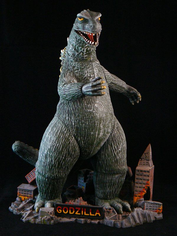 The Aurora Model Godzilla Figures Vintage Models