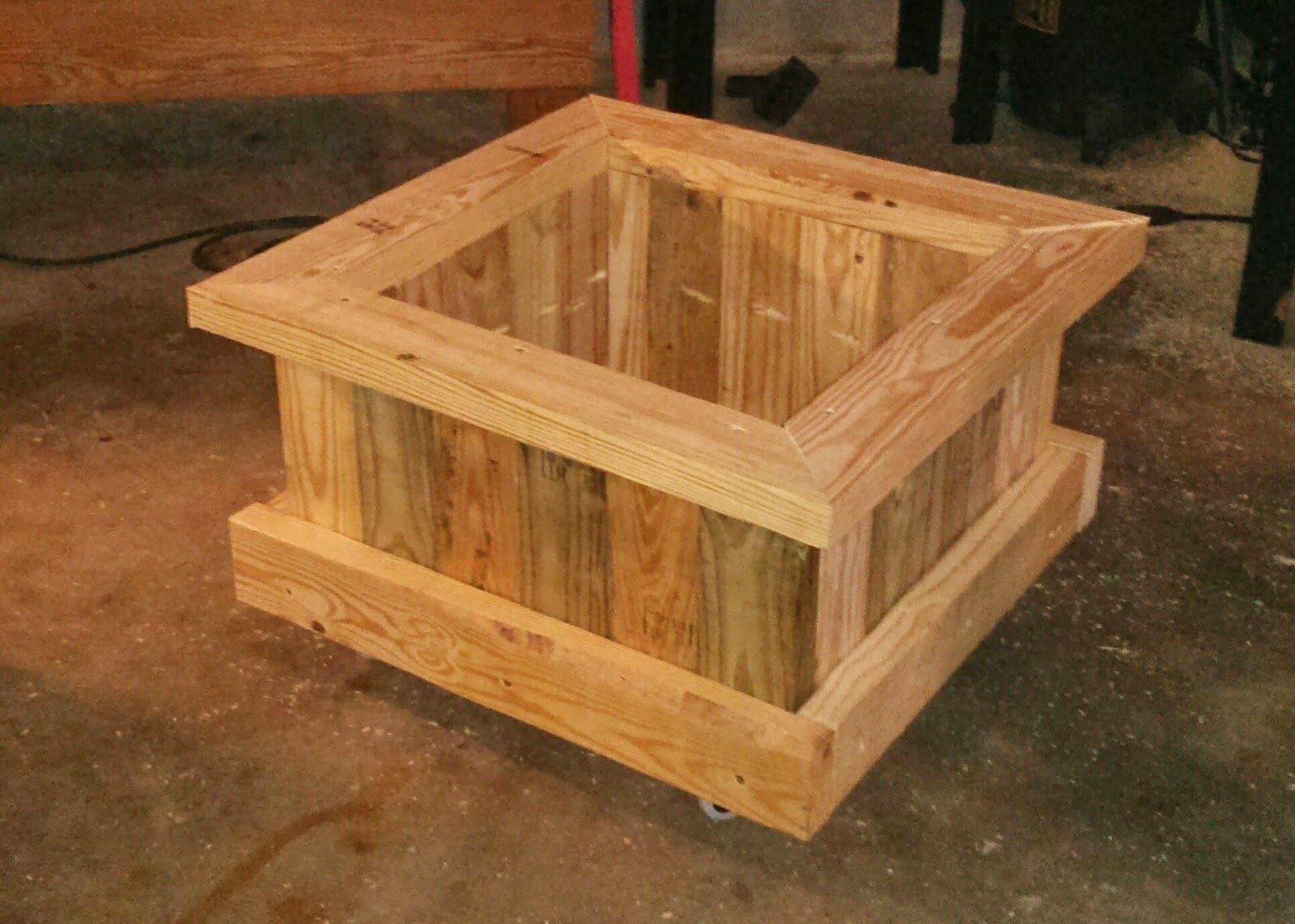 Matt S Diy Home Large Pallet 2X4 Planter Wood Planters 400 x 300