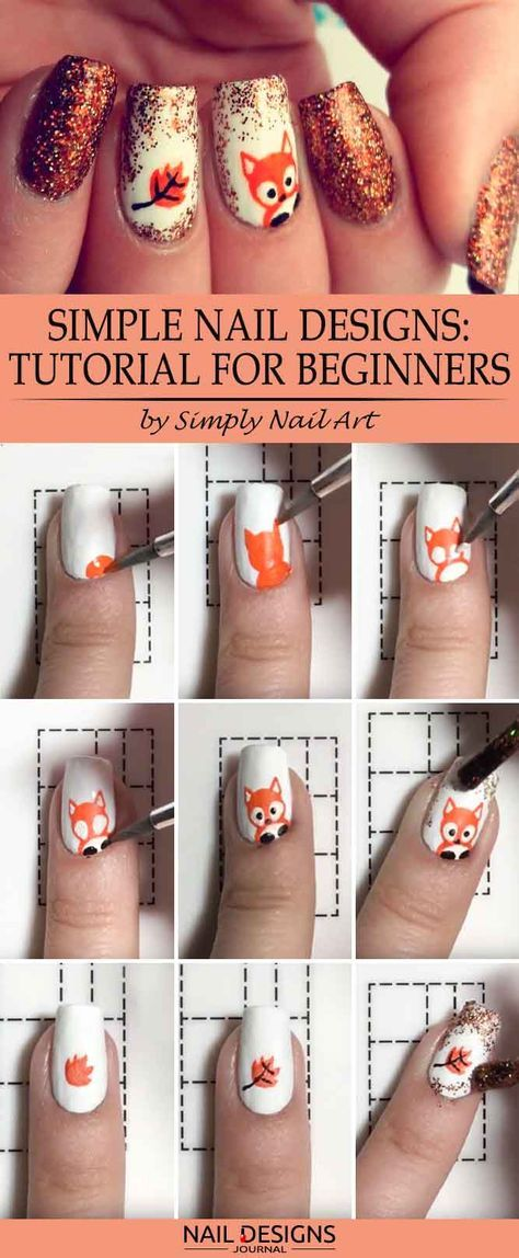 Foxy Nails: The Hottest Trend of This Fall | Simple nail designs ...