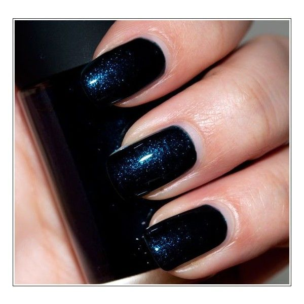 MAC Biker Blue Nail Lacquer Swatches, Photos, Review ❤ liked on ...
