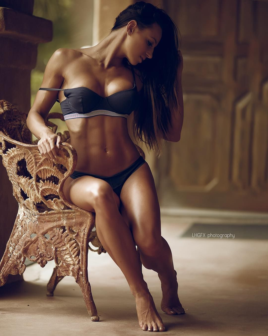 fitness female sexy nude