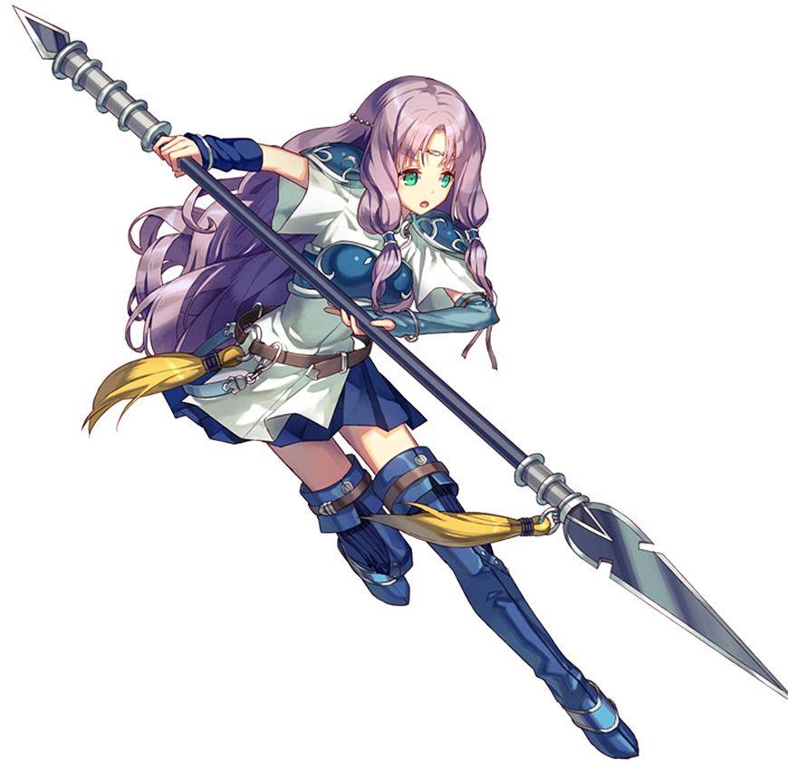 Florina Battle Stance From Fire Emblem Heroes Fire Emblem