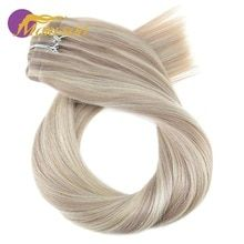 Moresoo Clip in Human Hair Extensions Seamless PU Clip in Hair Extensions Remy Brazilian Hair 7PCS 120G Full Head Set #humanhairextensions