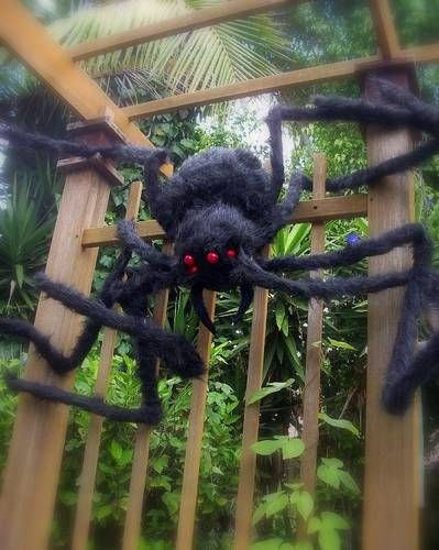 62 Spooktacular DIY Halloween Decorations Pinterest Grandin road - giant spider halloween decoration
