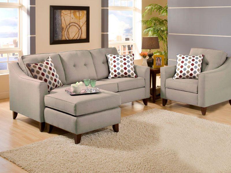 Sofa Sleeper  by American Furniture Manufacturing in Manhattan KS Cornell Chestnut Sofa