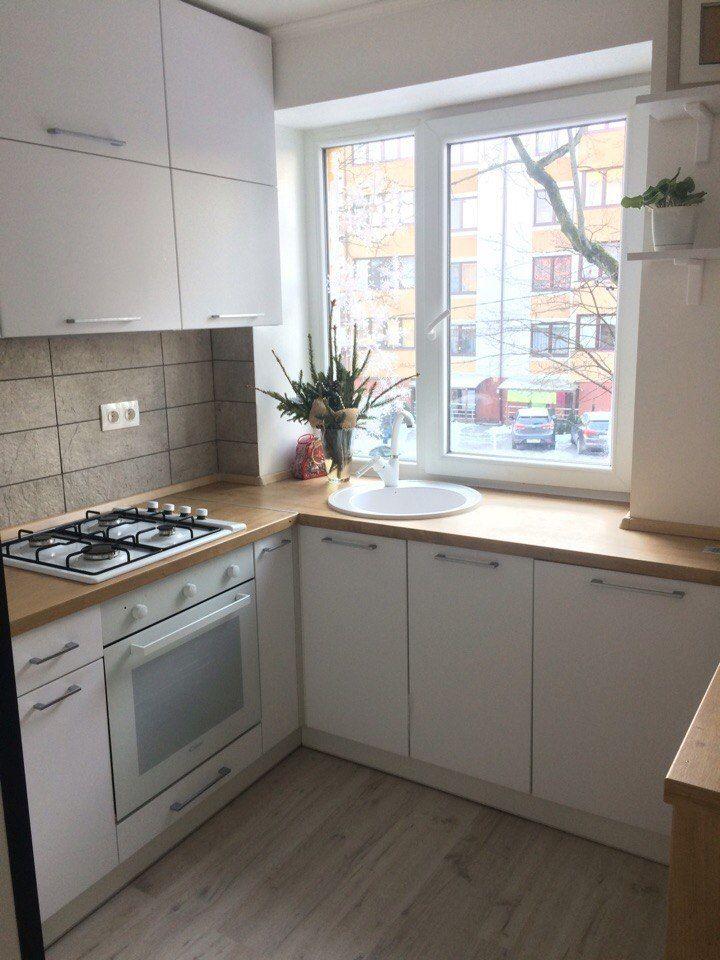 Дизайн хрущевки Маленькая кухня Белая кухня