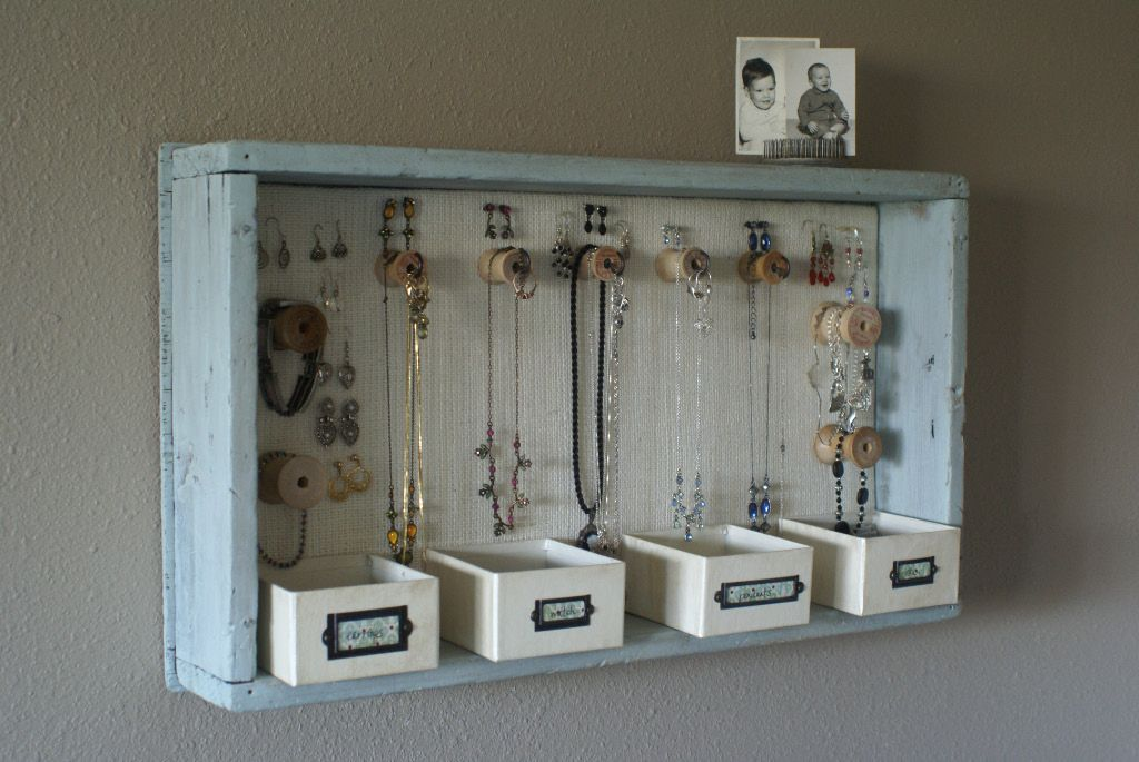 From Wooden Trays To Hanging Jewelry Organizers A Time For Everything Hanging Jewelry Storage Dorm Diy Room Diy