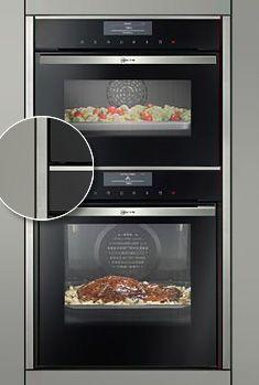 Seamlesscombination Der Nahtlose Einbau Von Gerate Kombinationen Ubereinander Eine Einzigartige Entwicklung Von Neff Kitchen Toaster Oven Kitchen Appliances