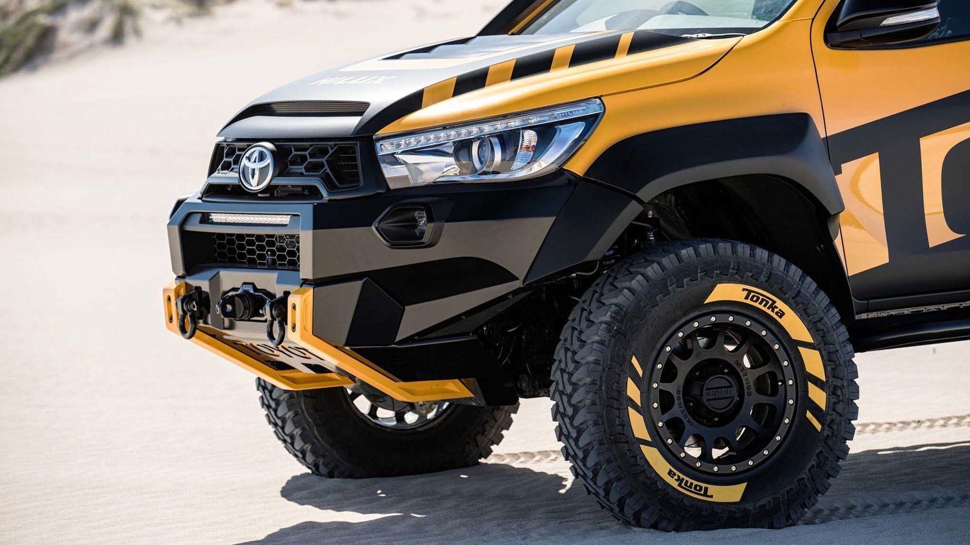 Toyota Hilux Tonka Concept Un Juguete Para Ninos Ya Crecidos Foto