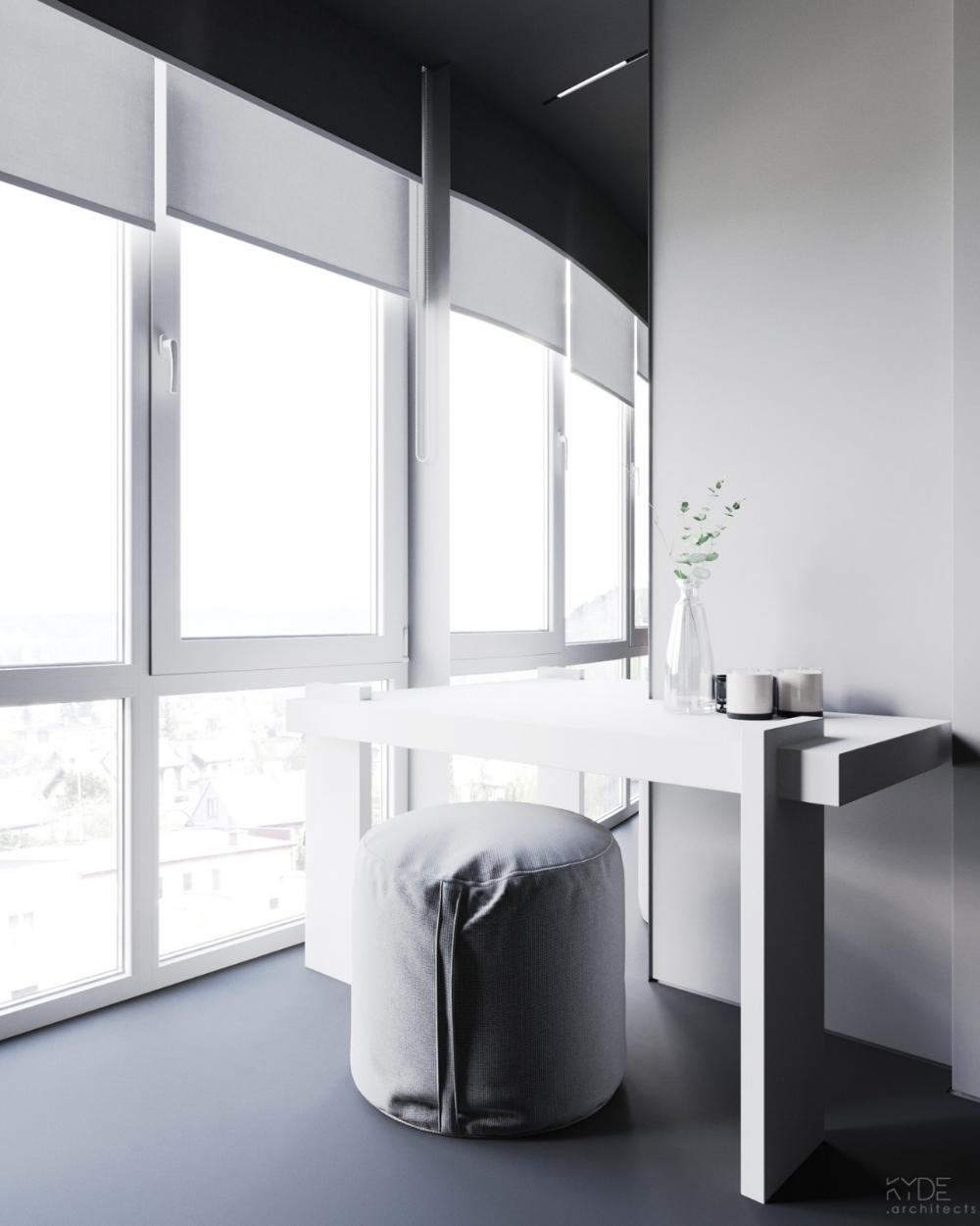Autodesk Room Design: 现代简约风家庭公寓 Nazar Tsimbalyuk