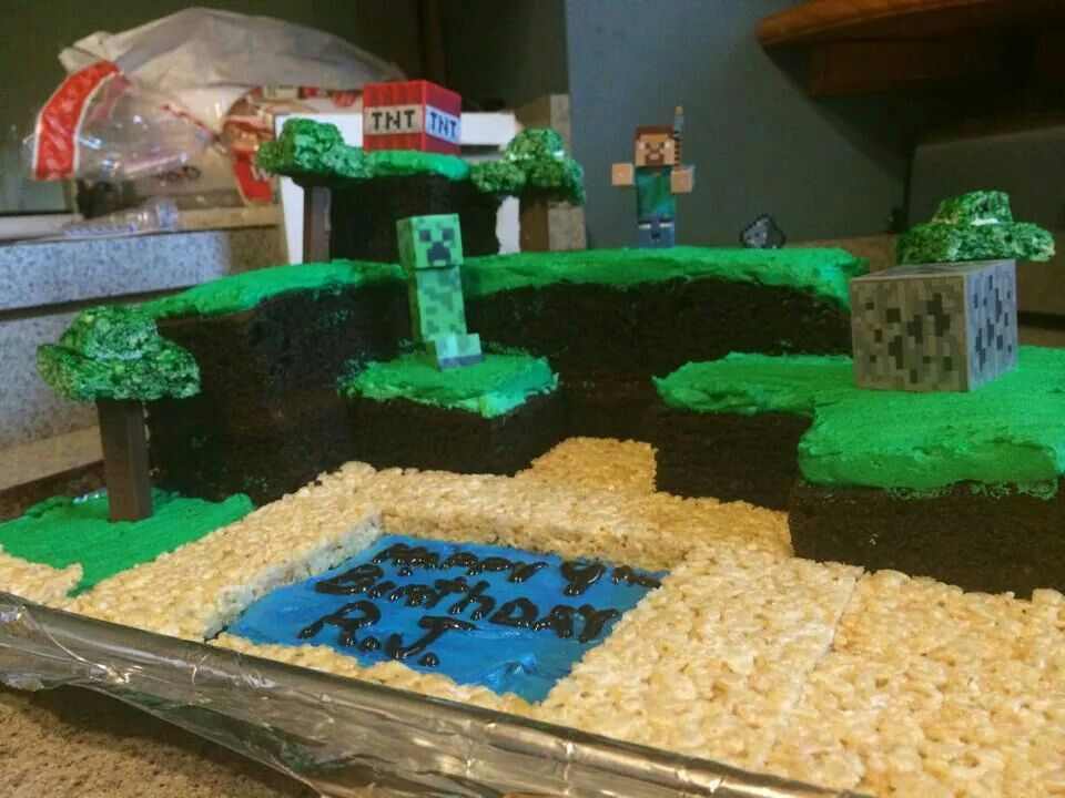Cake!!! (I didn't make it)