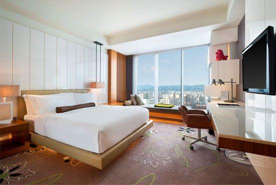W Hotels Taipei 5 Star Luxury Hotel In Fabulous Room