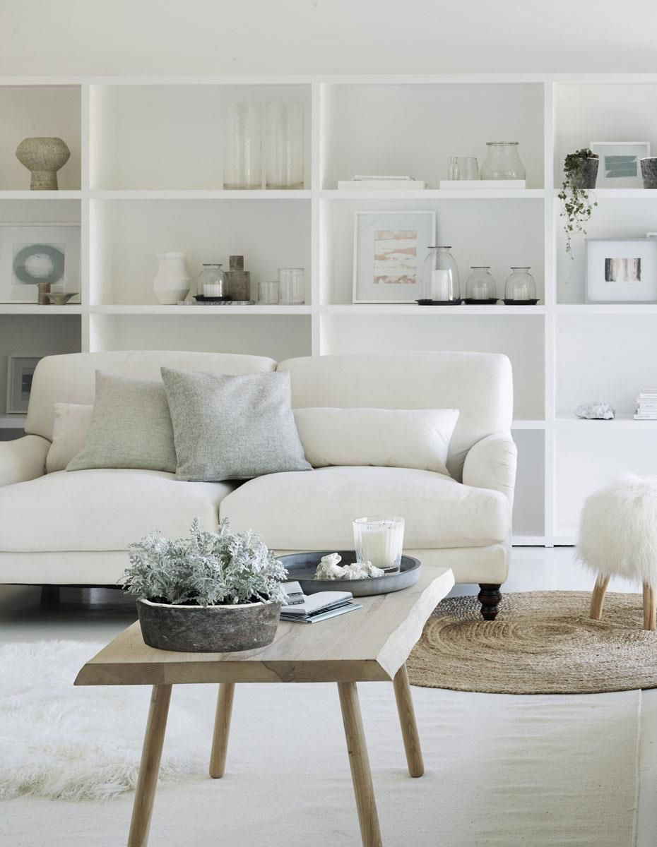 Fresh white decorating ideas for every room