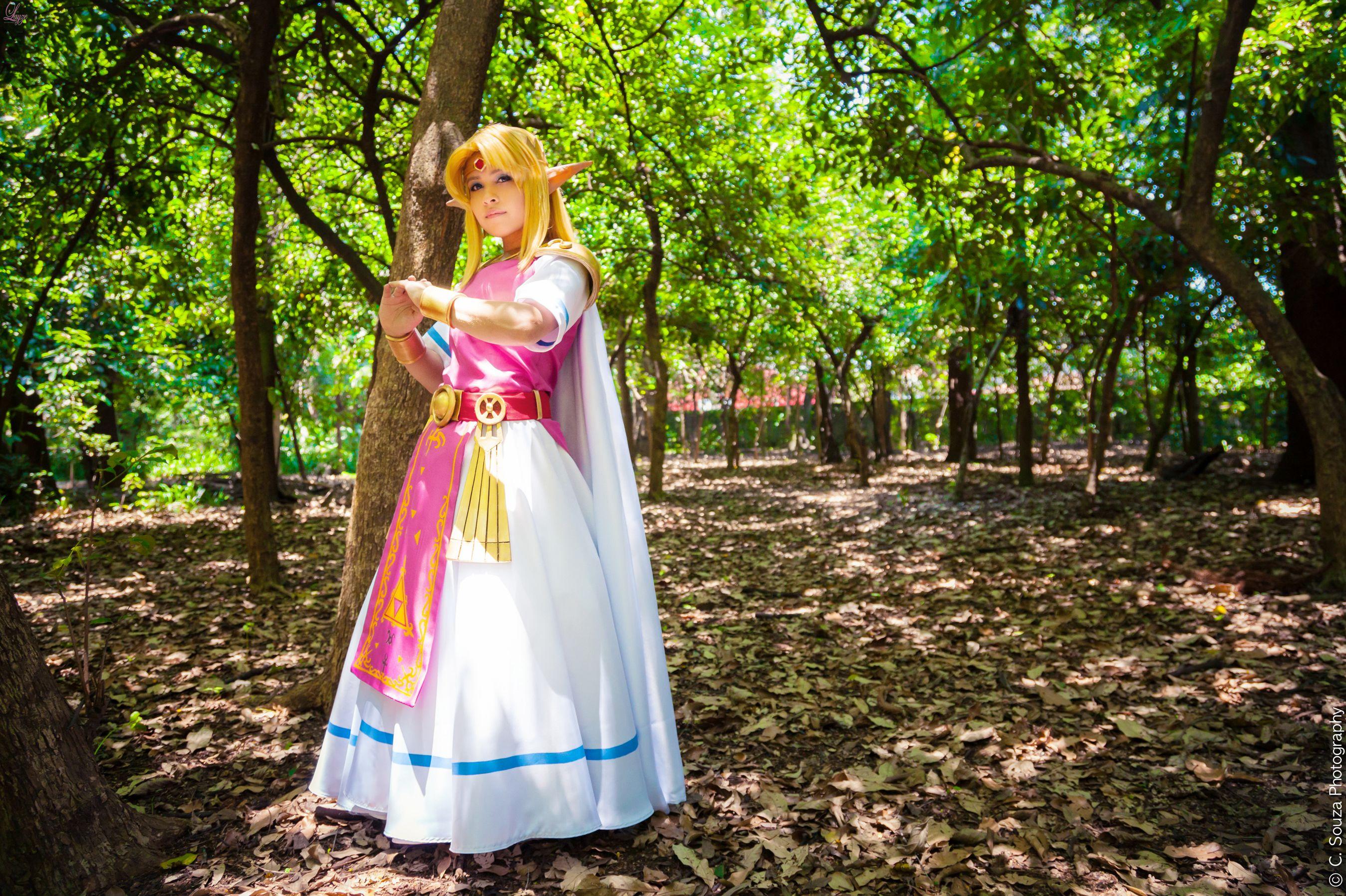 Princess Zelda Cosplay A Link Between Worlds By Laahmichelle