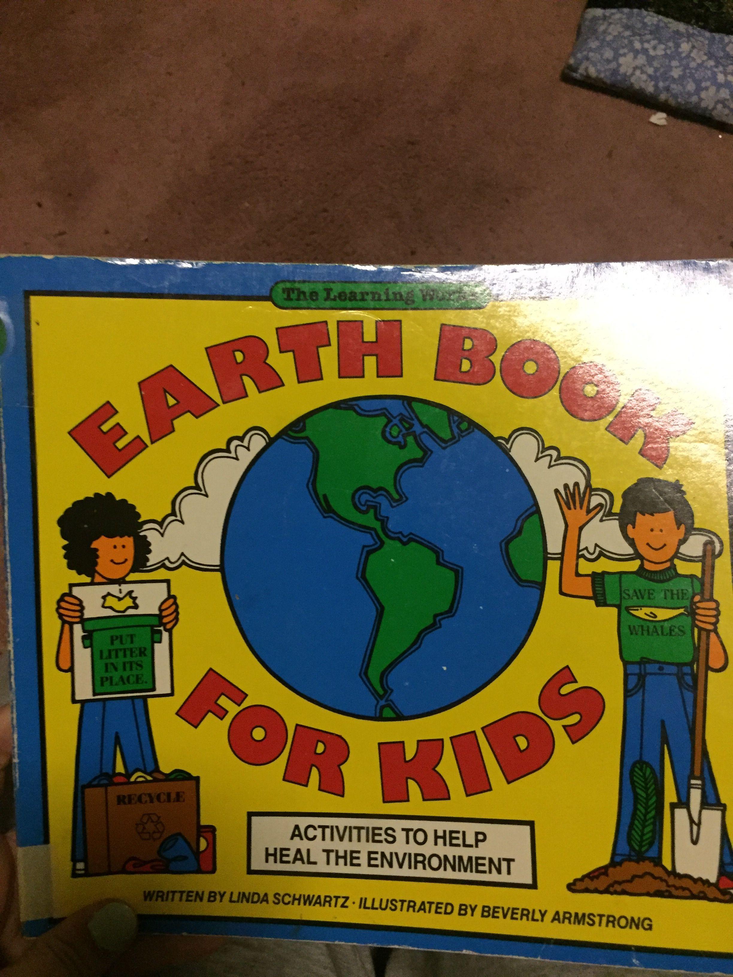 Earth Day Kindergarten Literacy Worksheet