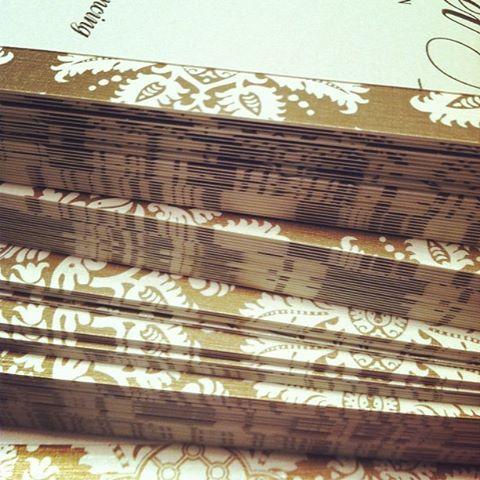ColorCrushing: Gold { AvantGarde Design } Connecticut Wedding Invitations - Design & Print Company