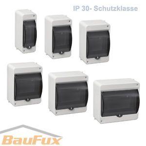 Kleinverteiler-IP30-AP-Aufputz-Unterverteilung-Sicherungskasten-Verteilerkasten