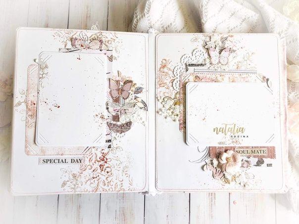 Скрапбукинг. Идеи и МК | Свадебный альбом, Страницы ...
