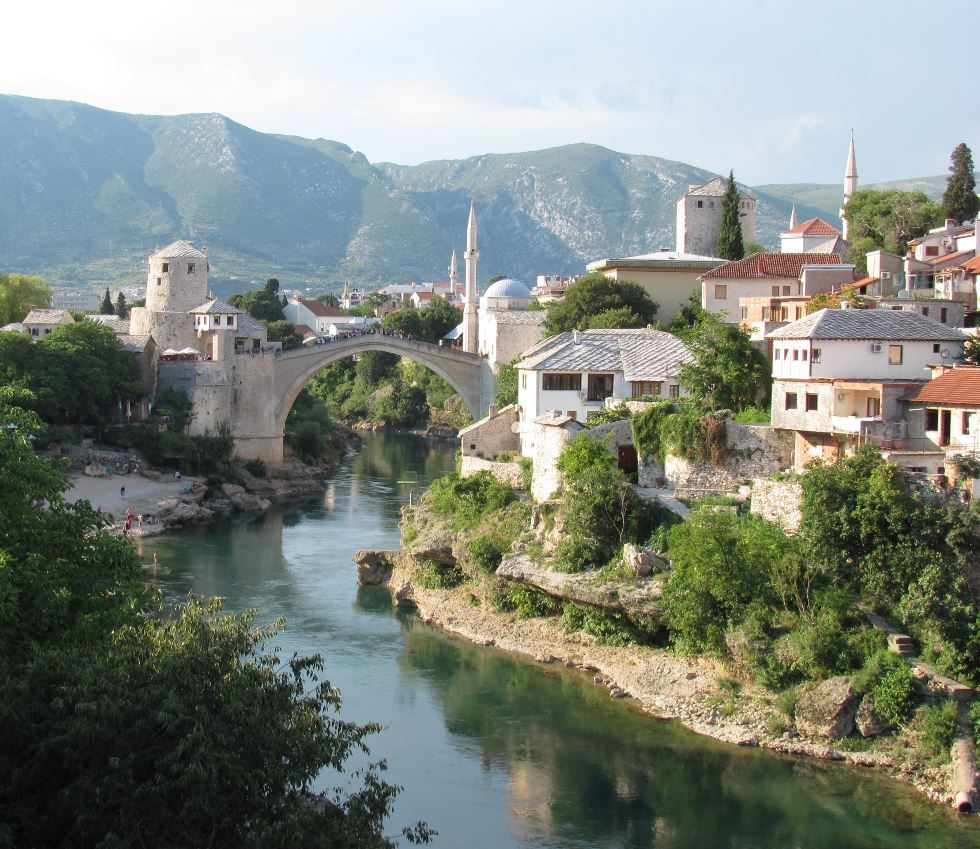 "The largest city in the Herzegovina region is also one of the most important. In addition to its rich history, the city is home to one of the most exemplary fixtures of Islamic architecture in the Balkans. The piece in question is a bridge–often called ""Old Bridge""–and it was built by the Ottomans way back in the 16th century."