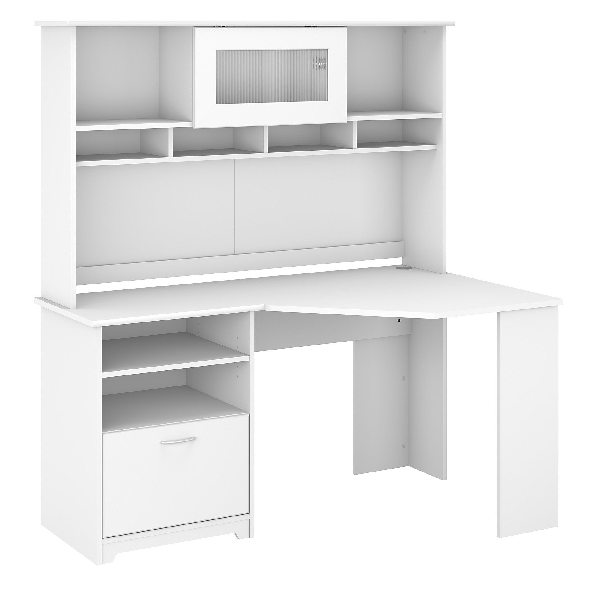Pin On Products White l shaped desk with hutch