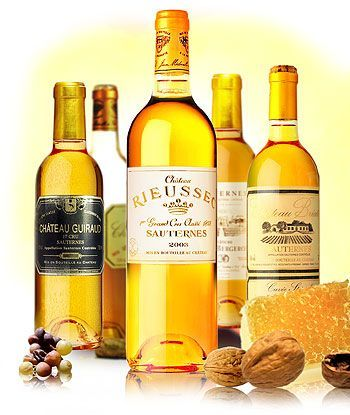 Culinary Word Of The Day Sauternes Picking Up A Bottle Wine Today Try