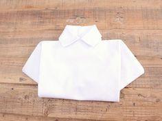 Piegare Asciugamani Forme : Tutorial fai da te come piegare un tovagliolo a forma di camicia