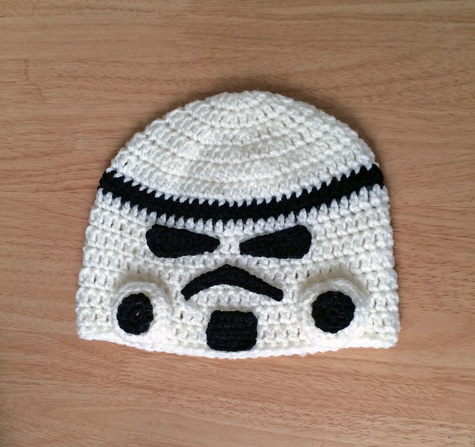 Ravelry star wars storm trooper beanie by megan denham patterns explore trooper hat starwars and more bankloansurffo Choice Image